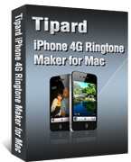 iPhone 4G ringtone maker for Mac