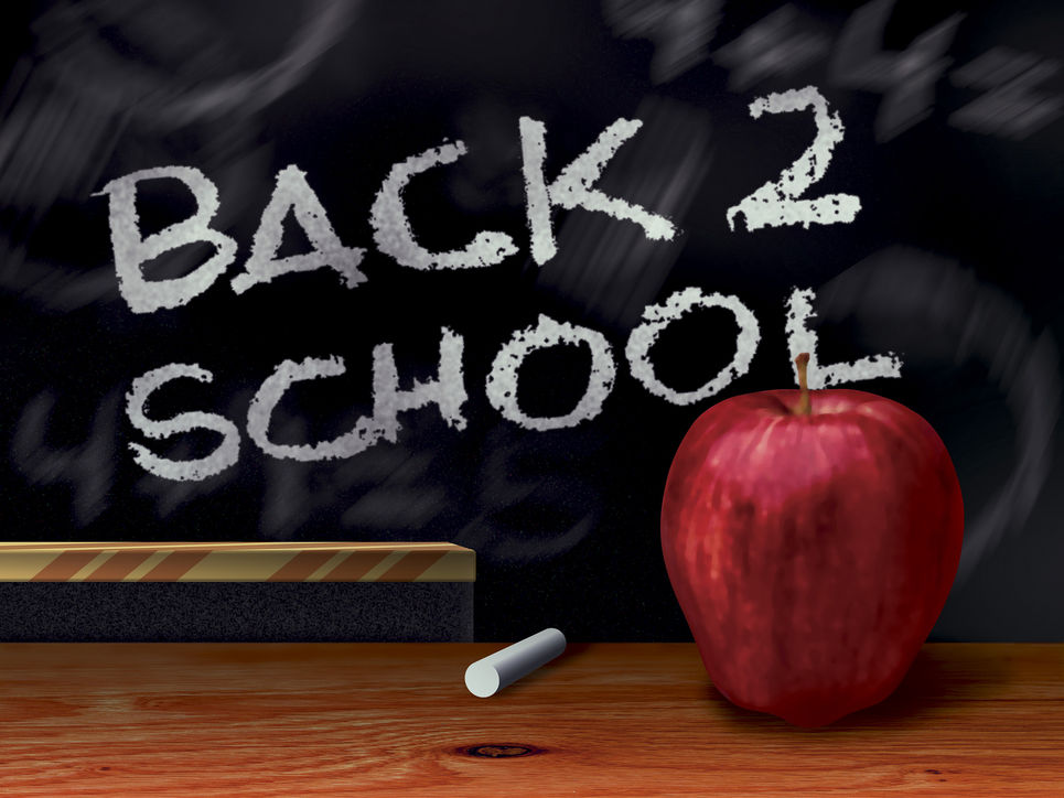 back to school background - photo #27