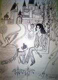 Michael Jackson pencil drawings