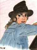 Michael Jackson pencil drawings
