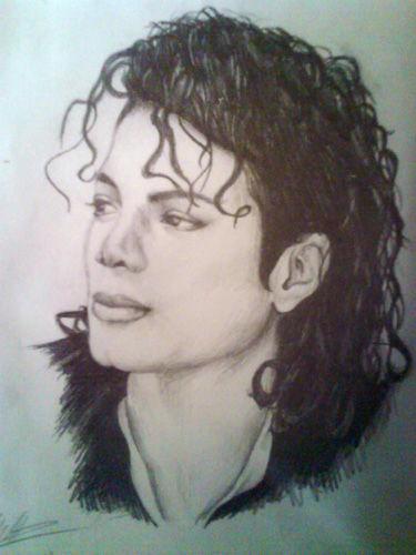 Michael Jackson Pencil Drawings, Pencil Drawings of