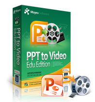 Moyea PPT to Video Converter Edu Edition boxshot