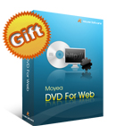 buy PPT to DVD Burner kits, get DVD4Web converter for free