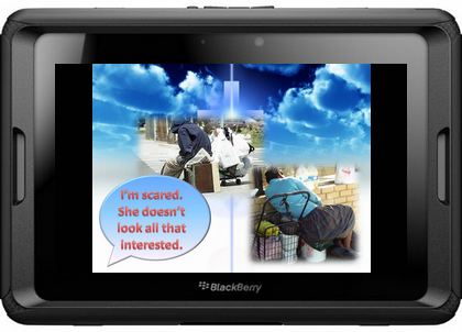 PowerPoint to Blackberry Playbook