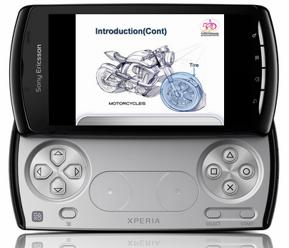 PowerPoint to Sony Erisson Xperia Play