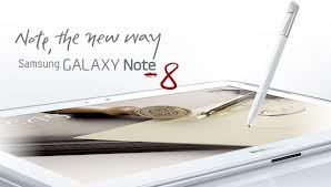 New Galaxy Note 8.0