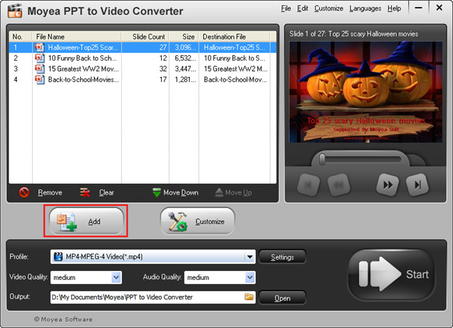 PowerPoint to Blackberry Bold 9780: Import PowerPoint Files