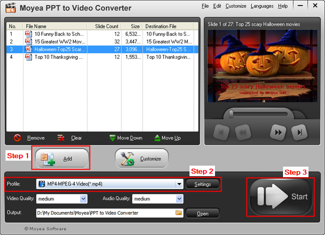 PowerPoint to Kindle Fire Converter