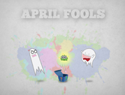 Fools Day livres abril 'modelo PowerPoint 5