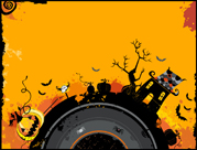 Free Halloween PowerPoint template 14