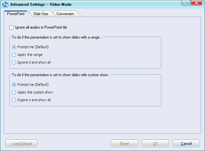 Turn PowerPoint to dvd: Moyea PPT to DVD Burner tutorial