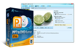 PPT to DVD Burner - convert PowerPoint to dvd&PowerPoint to video