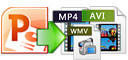 PowerPoint to MP4, AVI, MOV, etc.